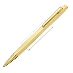 ボールペン エクリドール シェブロン ゴールドプレート (旧型) [企業名刻印]