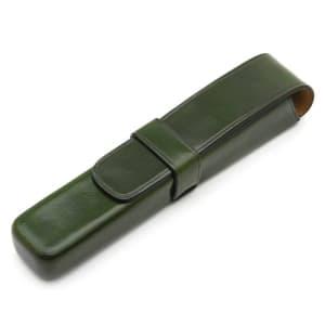 ペンケース 1本用 グリーン