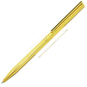 ボールペン クラシック ゴールドプレート ライン 漆黒クリップ