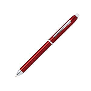 マルチペン TECH3 テックスリー トランスルーセントレッドラッカー