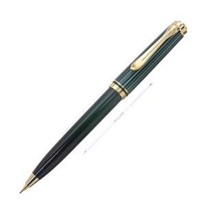 メカニカルペンシル スーベレーン D300 緑縞 0.7mm