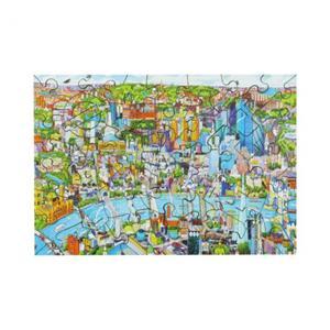 木製パズル LONDON OVERVIEW (40 Series)