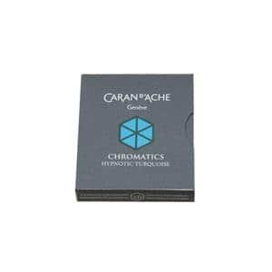 CARAN d'ACHE カランダッシュ カートリッジインク ヒプノティック ターコイズ 6本入り メイン