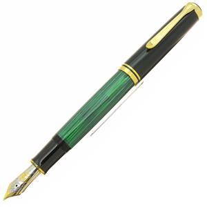 万年筆 スーベレーン M1000 緑縞 M (PF刻印)