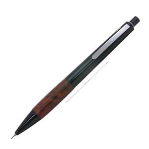 メカニカルペンシル アクセント ブラック ブライヤーウッド 0.7mm