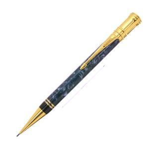 メカニカルペンシル デュオフォールド マーブルブルー 0.9mm
