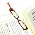 RION リオン セルロイド 手づくり栞 眼鏡(べっ甲) 1