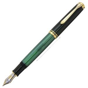 万年筆 スーベレーン M800 緑縞 B