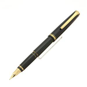万年筆 エラボー ブラック 軟太字 (最初期型/漆塗りペン芯)