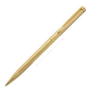 ボールペン ジェントルマン100 ゴールドプレート バーレイ