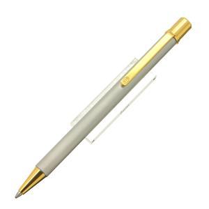 ボールペン マストII スティール/ゴールドプレイテッド