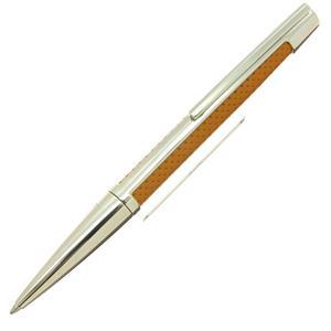 ボールペン デフィ パンチドレザー キャメル/パラディウムフィニッシュ