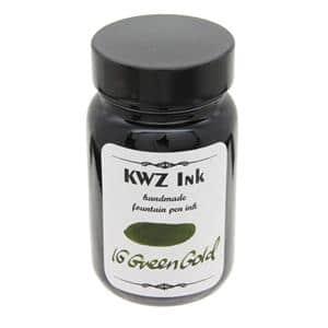 ボトルインク カヴゼットインク(KWZInk) IG グリーンゴールド 60ml